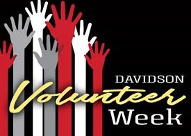 Davidson Volunteer Week logo