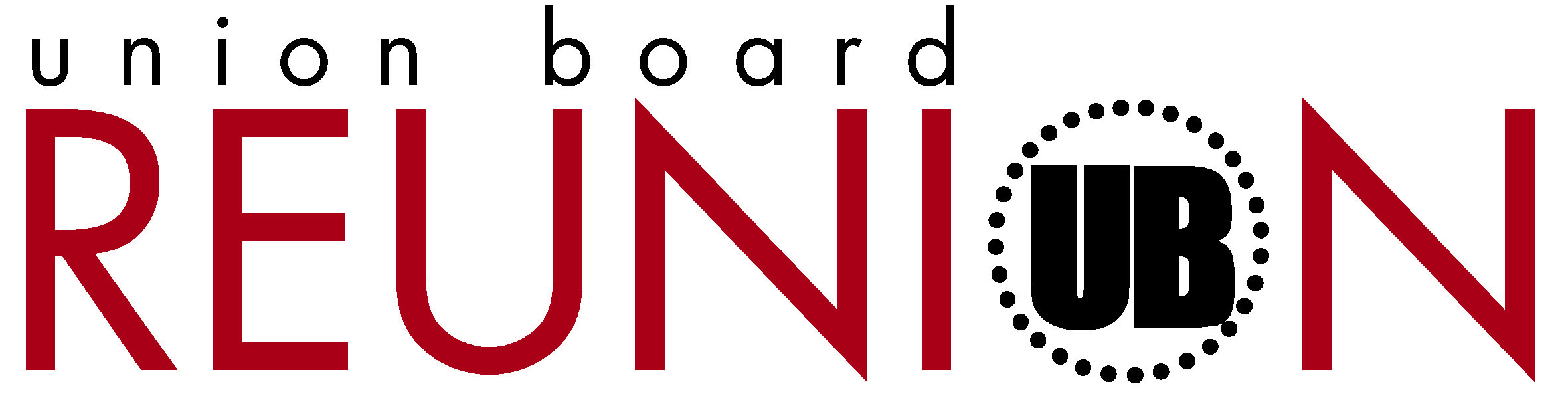 Union Board Reunion Logo